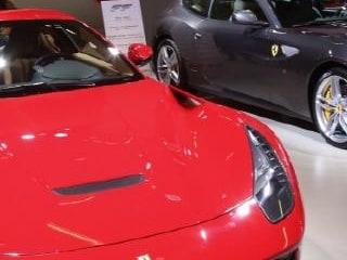 프랑크푸르트 모터쇼 F12 베를리네타(좌)와 FF(우)