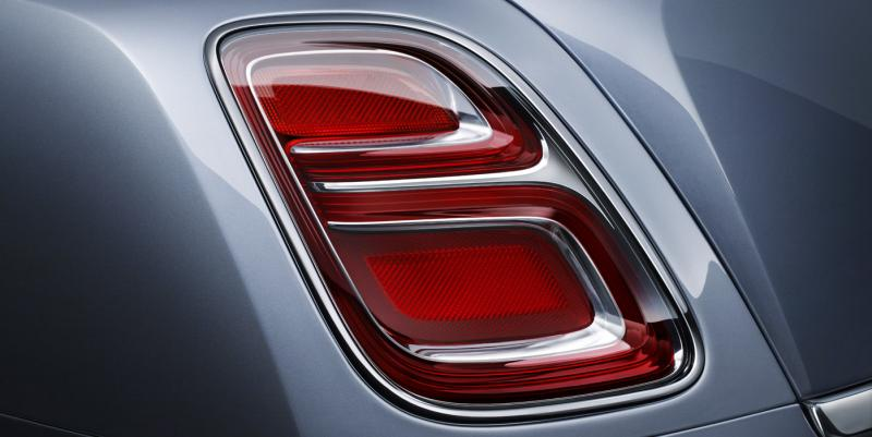 2017 | Mulsanne - Rear Lamp Detail