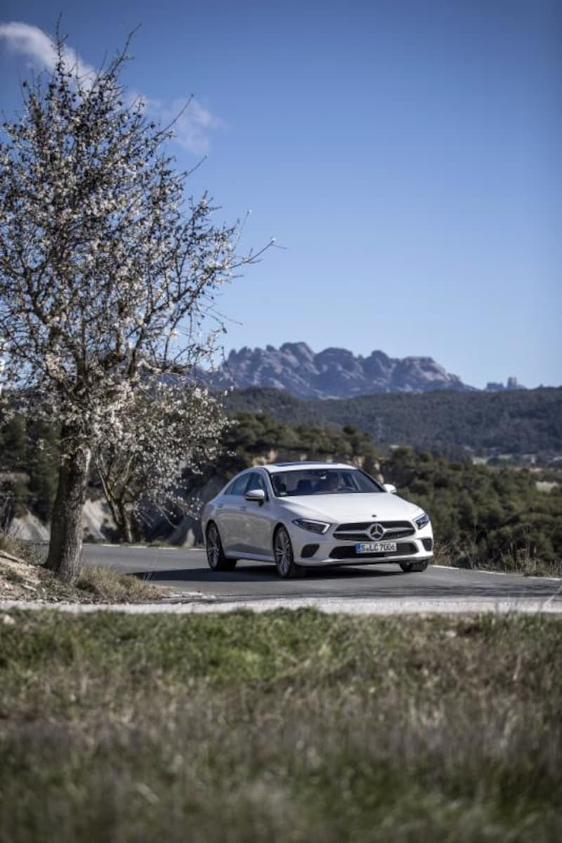 2018   The New CLS 350d