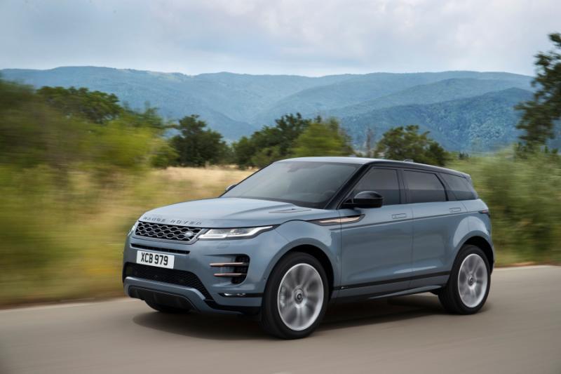 오피셜 랜드로버 New Range Rover Evoque