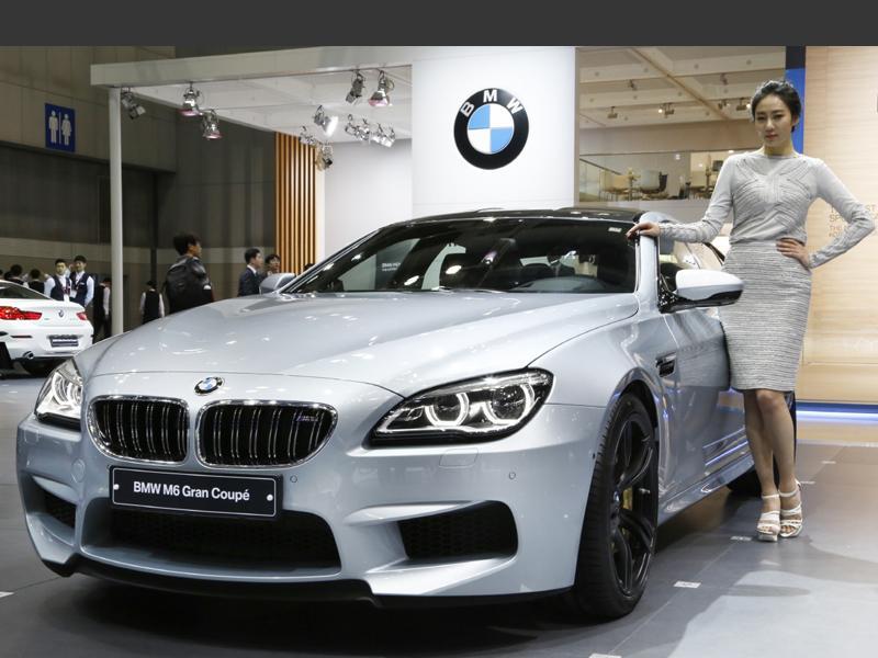 서울모터쇼 M6 그란 쿠페