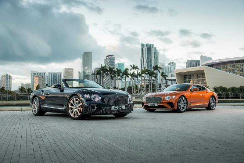 컨티넨탈 GT & GT 컨버터블 V8