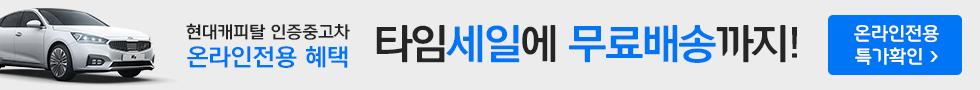현대캐피탈 타임세일에 무료배송까지!