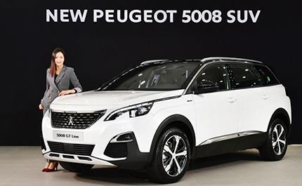 푸조, 4천만원대  7인승 SUV 'New 푸조 5008' 출시