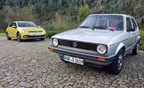 45년된 폭스바겐 '골프'를 보며 현대차 '포니'가 떠오른 이유!