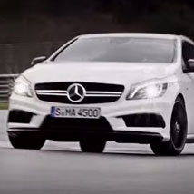 The new A 45 AMG.