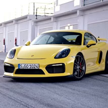 The new Cayman GT4