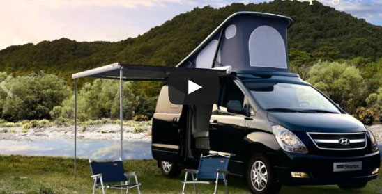 Camping Car - The New 2013 Grand Starex (Hyundai)