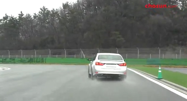 렉서스, GS F SPORT F1 서킷 질주