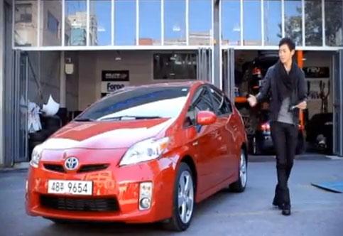 XTM 탑기어 코리아 토요타 프리우스(Totota Prius)