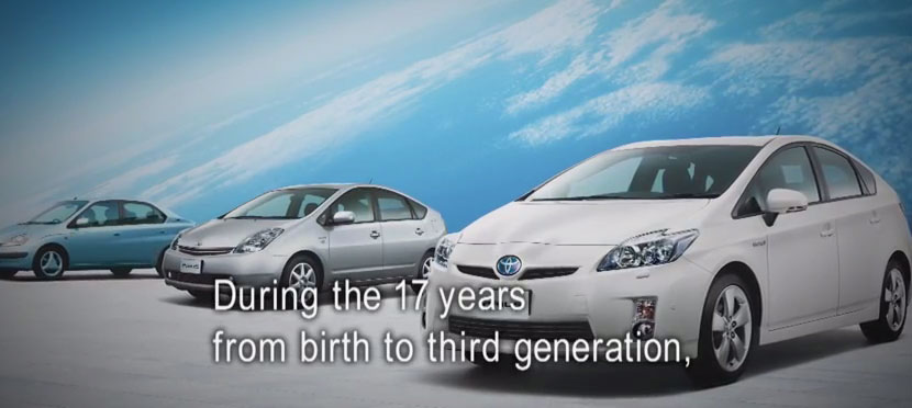 PRIUS heritage video - Toyota global site-