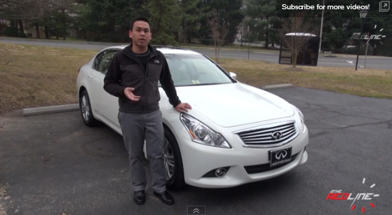 2013 Infiniti G37x Review, Walkaround, Exhaust, Test Drive