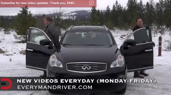 2013 Infiniti EX37 Journey AWD Review on Everyman Driver