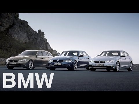The new BMW 3 Series Sedan and Touring.