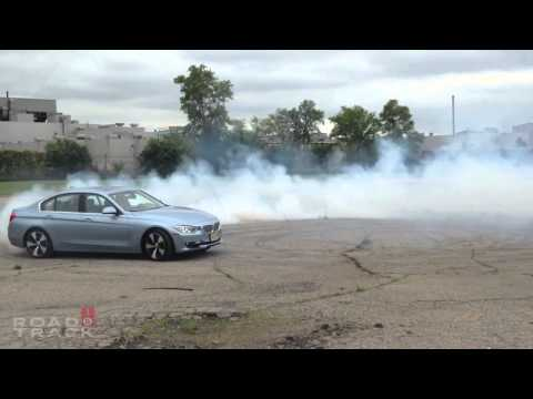 [RoadandTrack] Hybrid Donuts! 2013 BMW Active Hybrid 3