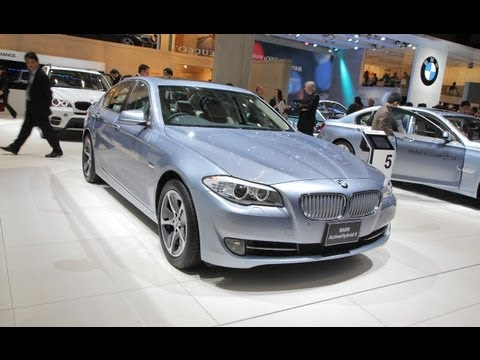 [RoadandTrack] 2012 BMW ActiveHybrid 5 @ 2011 Tokyo Auto Show