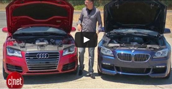 아우디 A7과 BMW 640i 그란쿠페 비교해보니