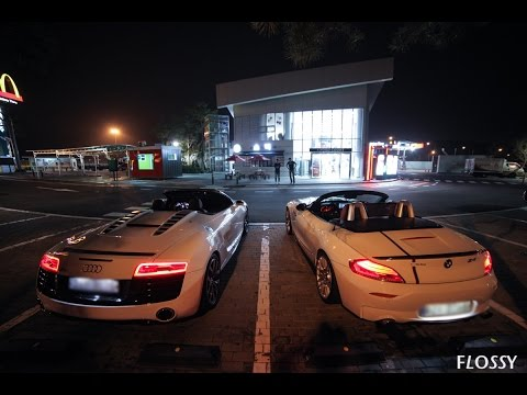 [A1 Media] 아우디 알팔 그리고 BMW z4 오픈카 고속도로 스피이이이드