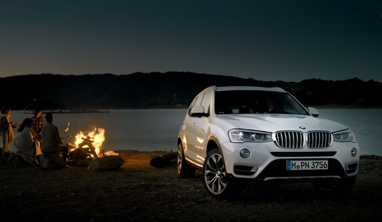 The new BMW X3. Official launchfilm.