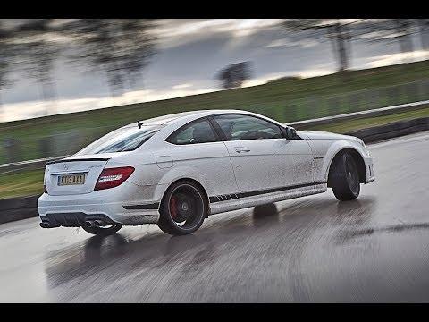 [Autocar] Autocar drift challenge, starring Mercedes C63 AMG and Audi R8