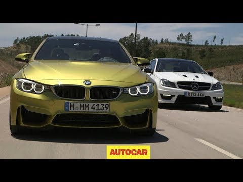 [Autocar] Performance coupes go head-to-head: BMW M4 vs. Mercedes-Benz C63 AMG