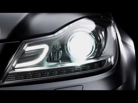 All new Mercedes C-Class Coupe 2012 Trailer