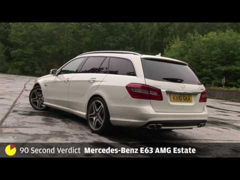 [Autocar] Mercedes-Benz E63 AMG - 90sec review