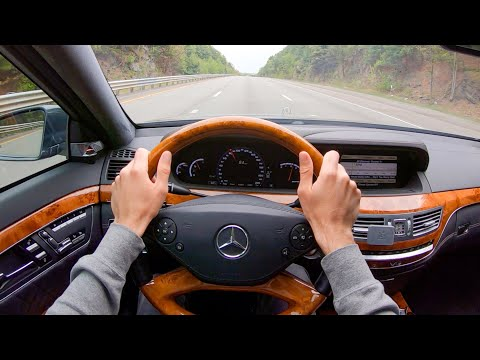 [WR Magazine] 2012 Mercedes Benz S65 AMG - POV Test Drive by Tedward (Binaural Audio)