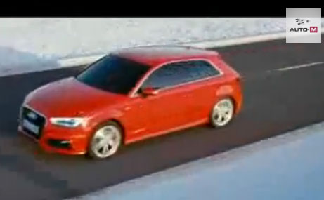 Mike Rockenfeller introducing new Audi A3 2013 - A3 Dimension
