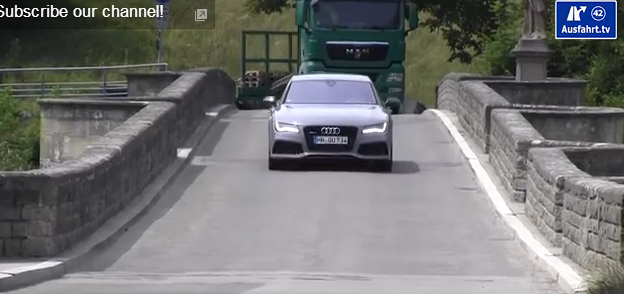 2014 AUDI RS7 : Review / Test / Testdrive