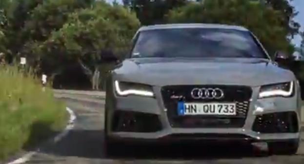 2014 Audi RS 7 Teaser