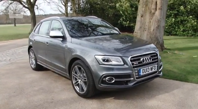 Audi SQ5 TDI test drive