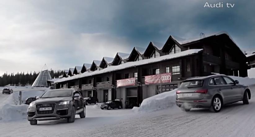 Driving Experience Nordkap Tour - mit dem Q7 durch die Eislandschaft