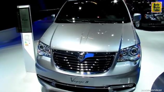 2014 Lancia Voyager S - Exterior and Interior Walkaround - 2013 Frankfurt Motor Show