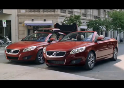 Volvo C70 TV Commercial -