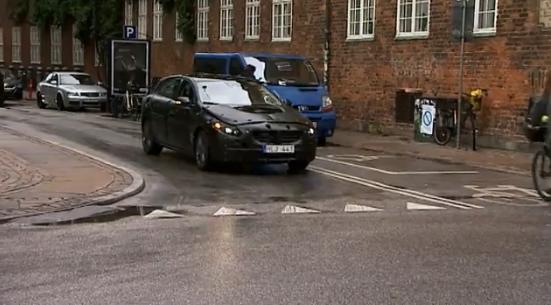 Disguised Volvo S60 in Copenhagen