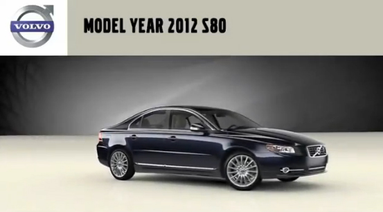 The 2012 Volvo S80 - Interior Updates