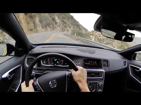 [WR TV] V60 Polestar POV Canyon Drive
