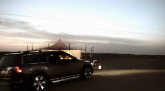 Volvo XC70 Glamping Adventure