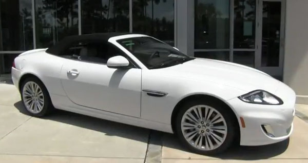 2012 Jaguar XK Convertible - Jaguar Hilton Head SC