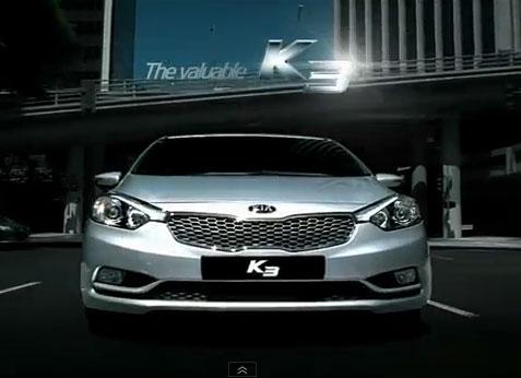 Kia K3 (2013 Forte) commercial (15s)