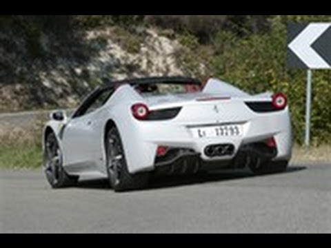 [Autocar] Ferrari 458 Spider video review