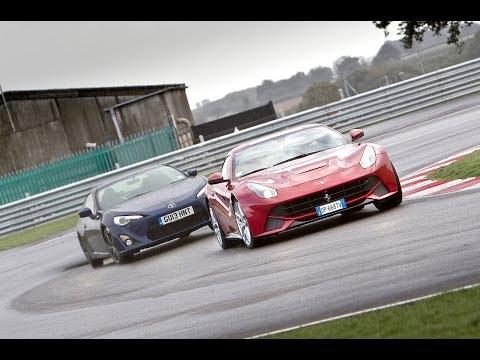 [Autocar] Ferrari F12 Berlinetta vs Toyota GT86 - which is more fun?