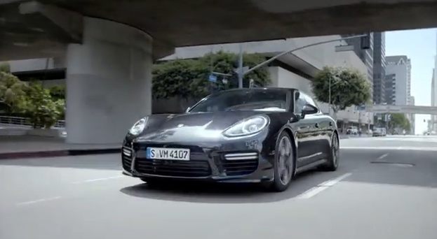 The new Porsche Panamera - Double life