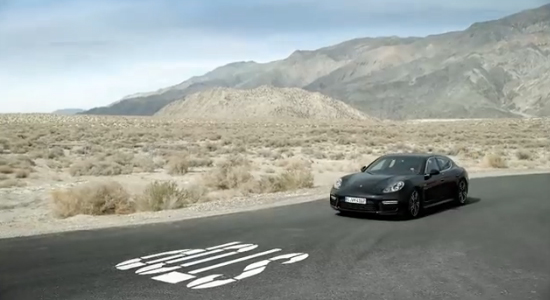 The new Porsche Panamera: Engine Efficiency
