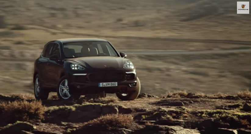 The new Porsche Cayenne - Off-road capability