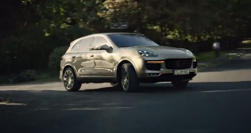 The new Porsche Cayenne - Efficiency