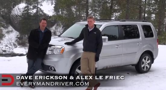 2013 Honda Pilot 4WD Review on Everyman Driver