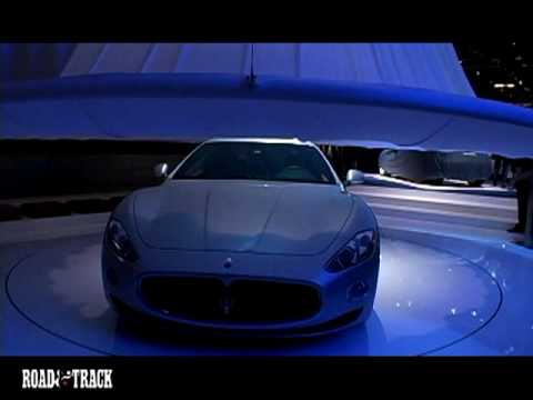 [RoadandTrack] Maserati Grand Turismo Debut