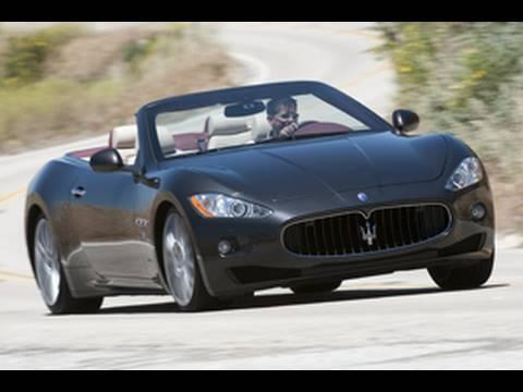 [RoadandTrack] Sound Capture: 2010 Maserati GranTurismo Convertible engine and exhaust